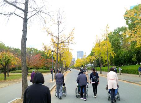 大阪城に行きました