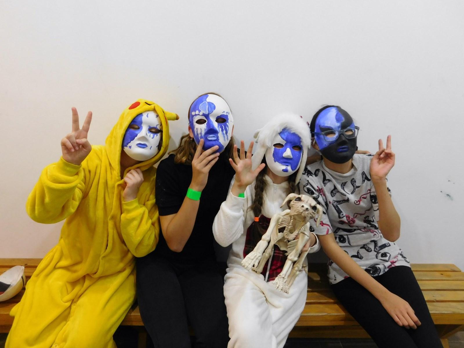 Крутые маски и костюмы)