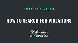 How to Search for Violations