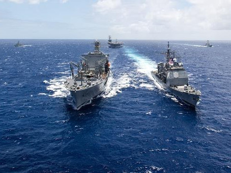 The Navy Goes Green