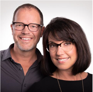 Jim and Amy Schneider Eyes of Faith founders