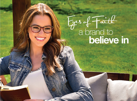 New in Store!  Eyes of Faith Optical