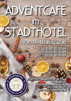 Plakat Adventcafe