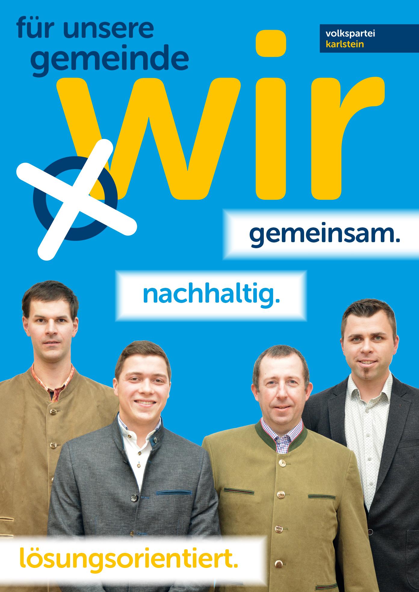 A1 Plakat Kandidaten Münchreith Thures