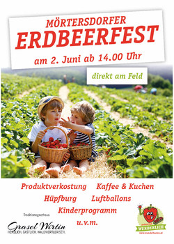 Flyer Erdbeerfest