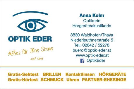 Optik Eder Waidhofen