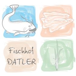 Fischhof Datler Logo / Design