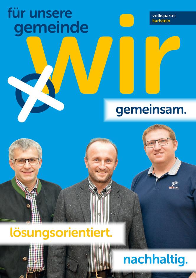 A1 Plakat Kandidaten Hohenwart