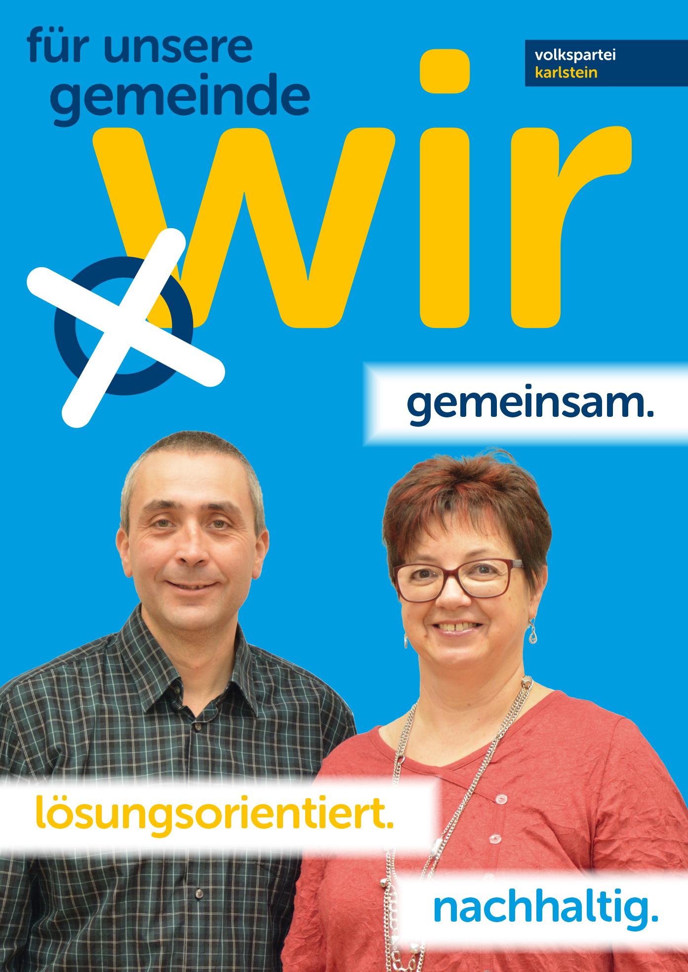A1 Plakat Kandidaten Schlader Wertenau