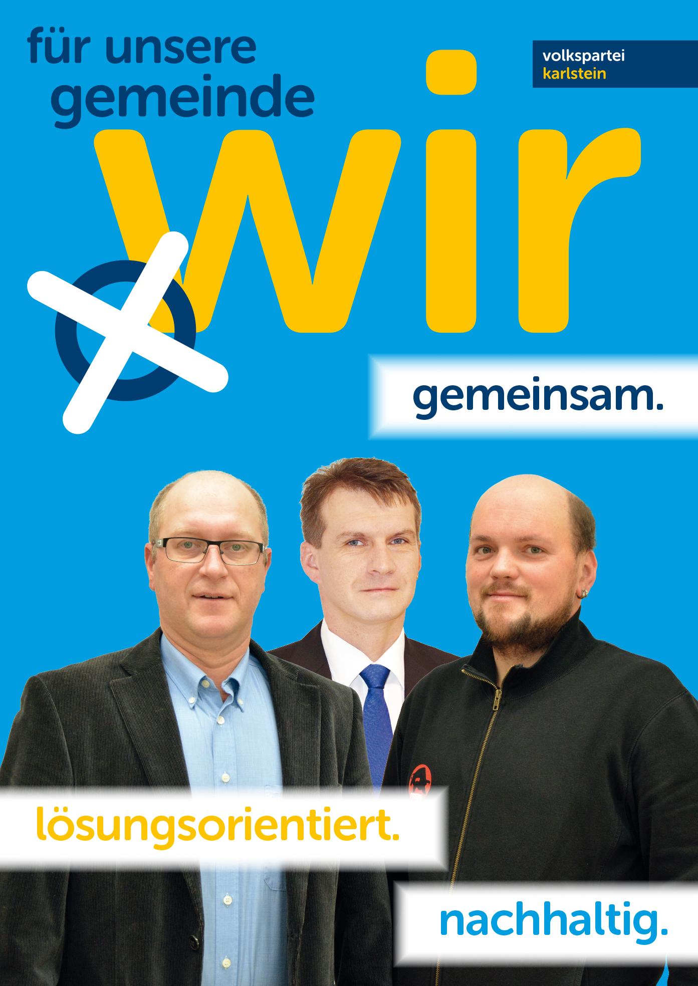 A1 Plakat Kandidaten Griesbach