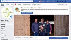 Natur Leben Facebook-Präsenz