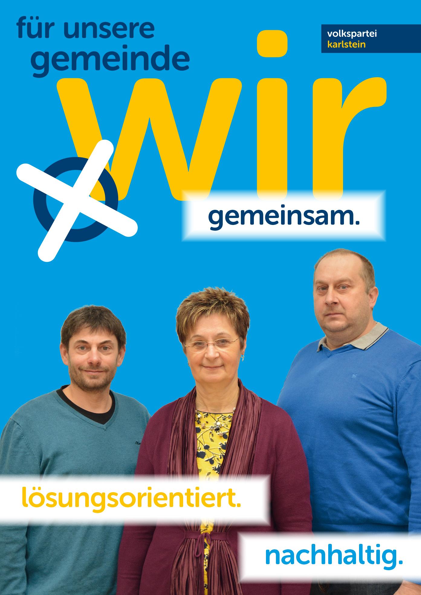 A1 Plakat Kandidaten Goschenreith Eggers