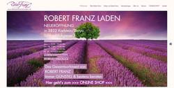 Homepage und Onlineshop