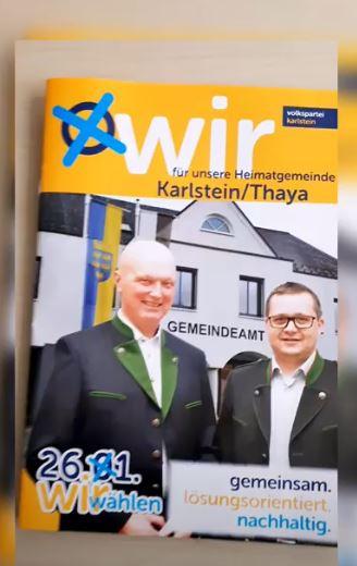 Wahl-Broschüre