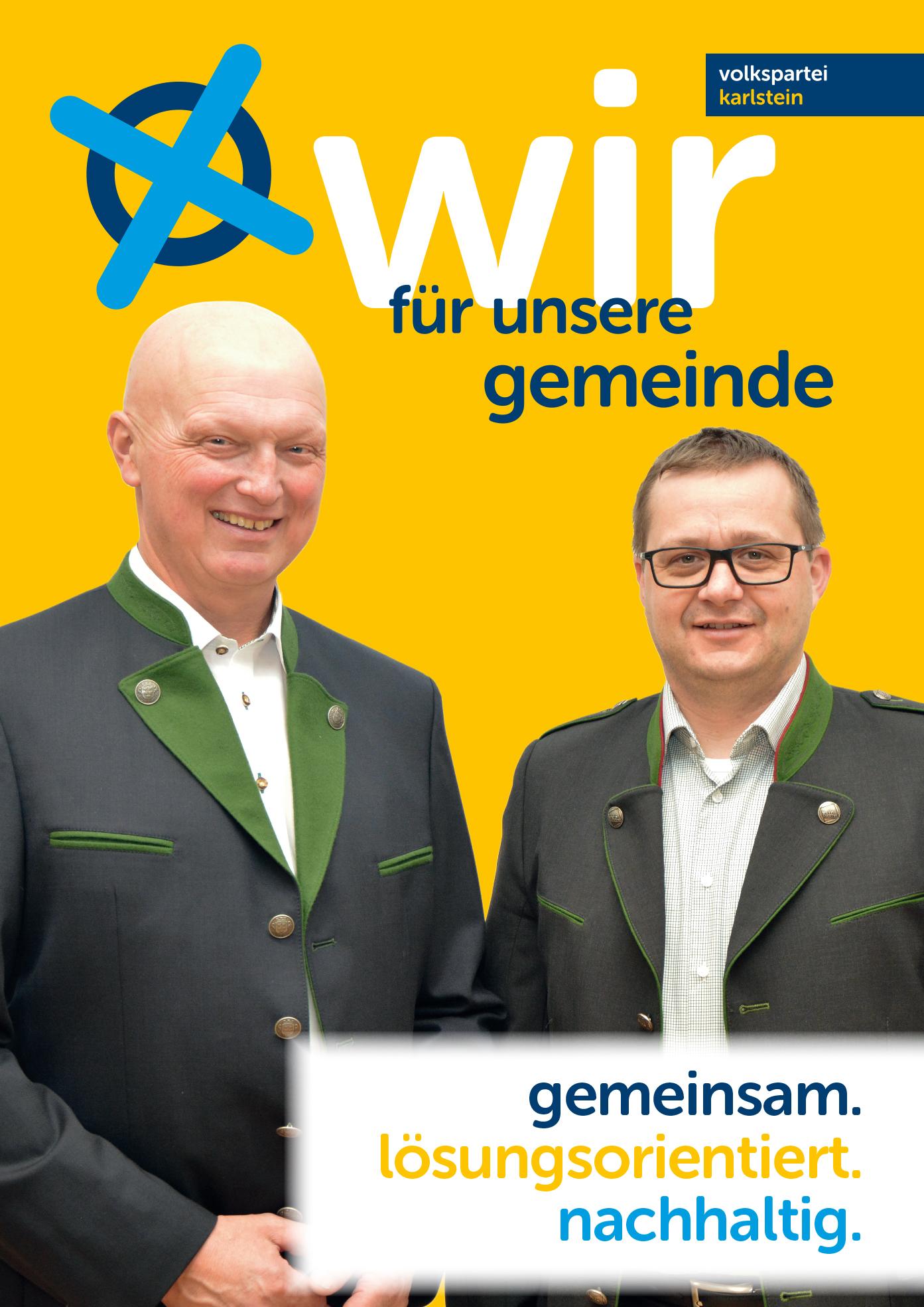 A1 Plakat Bürgermeister Vizebürgermeiste