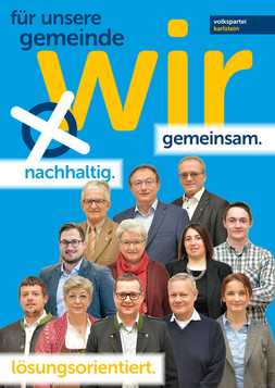 A1 Plakat Kandidaten Karlstein