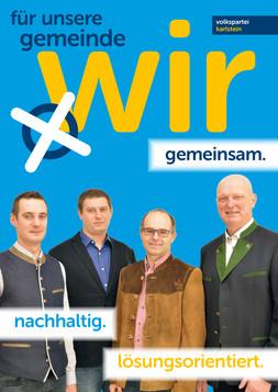 A1 Plakat Kandidaten Göpfritzschlag