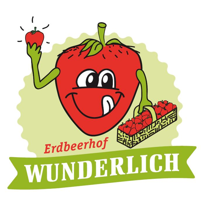 Erdbeerhof Wunderlich Logo Relaunch