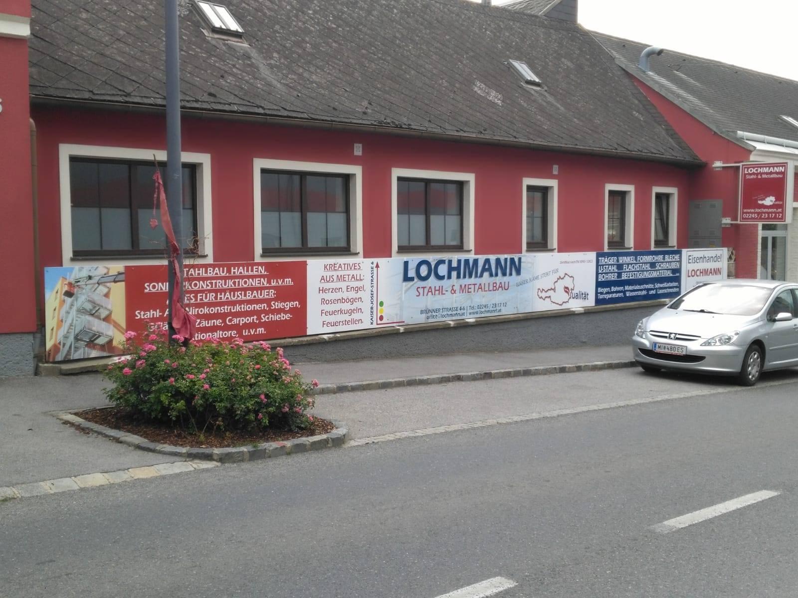 Firmen/Werbetafel 16 m Länge