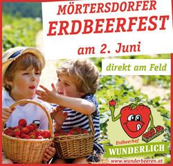 Erdbeerhof Wunderlich Anzeige Erdbeerfes