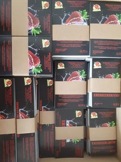 Etiketten Erdbeerhof Wunderlich