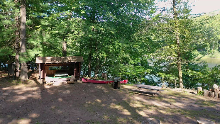 Adirondack Camp Site Tour