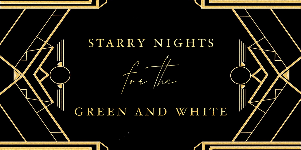 Starry Nights For The Green & White