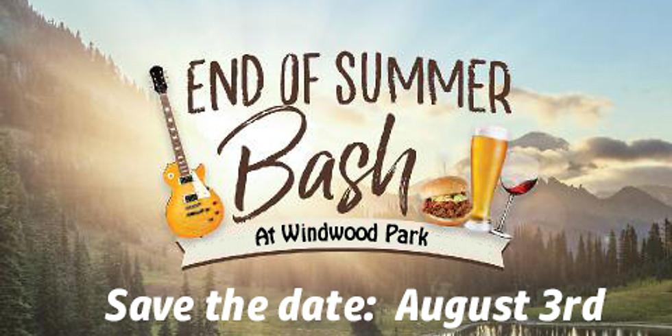 Windwood Park's End of Summer Bash!