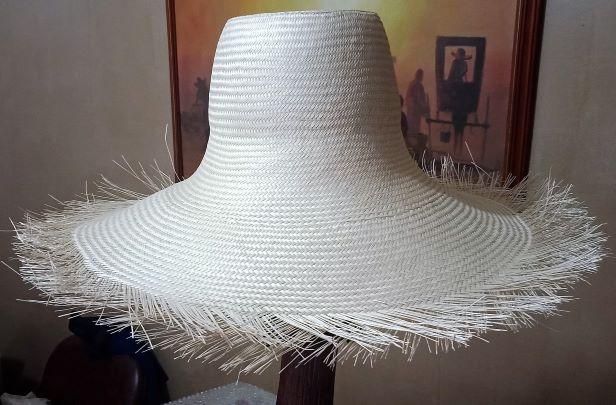 BUNTAL HAT FINE 3x3 WEAVE