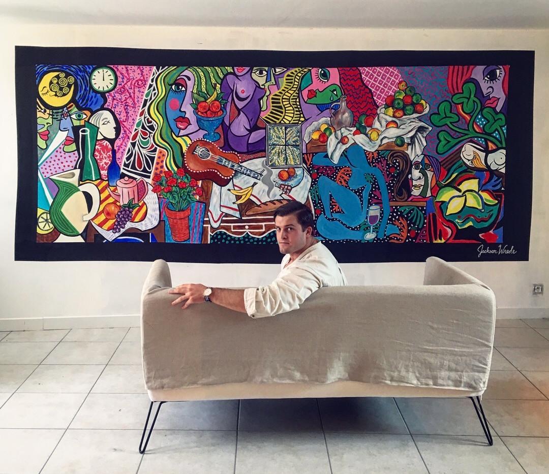 Indoor Wall Mural, France