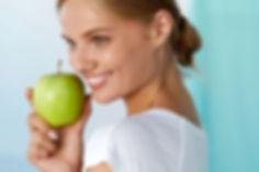 dame med eple