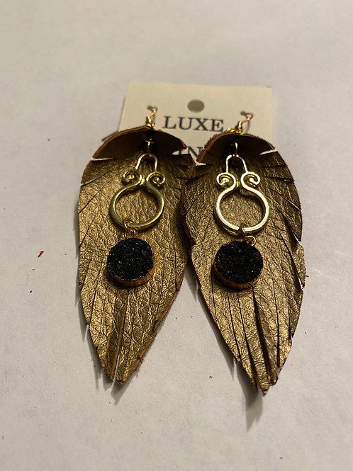 Luxe Fringe Earrings - Large