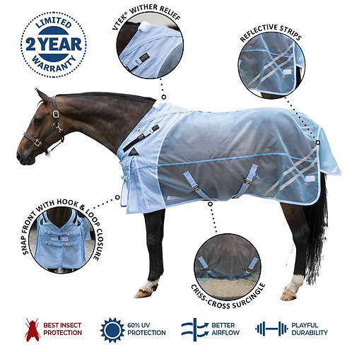 Mosquito Mesh® VTEK® Wither Relief Surcingle Fly Sheet
