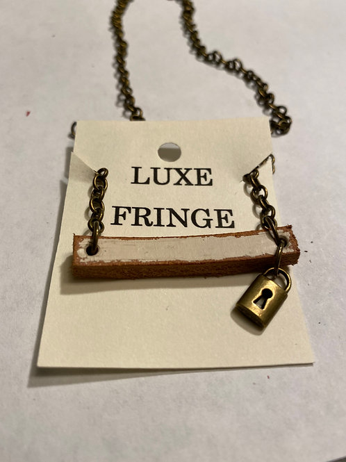 Luxe Fringe Necklace