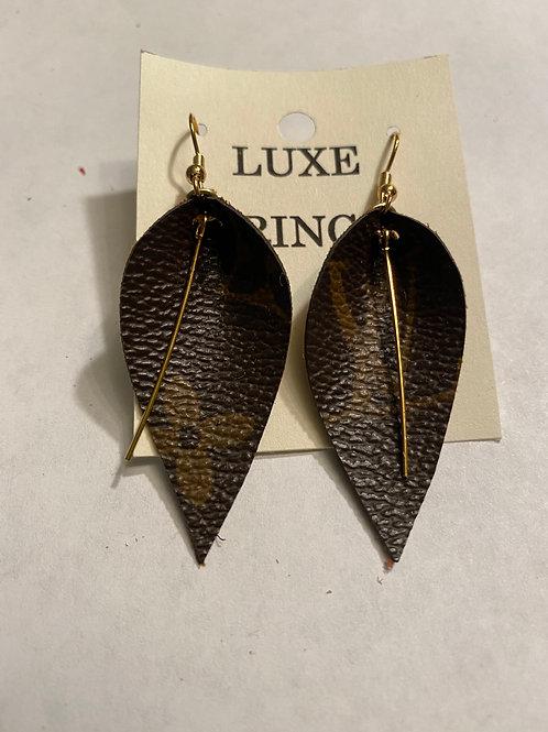Luxe Fringe Earrings - Small