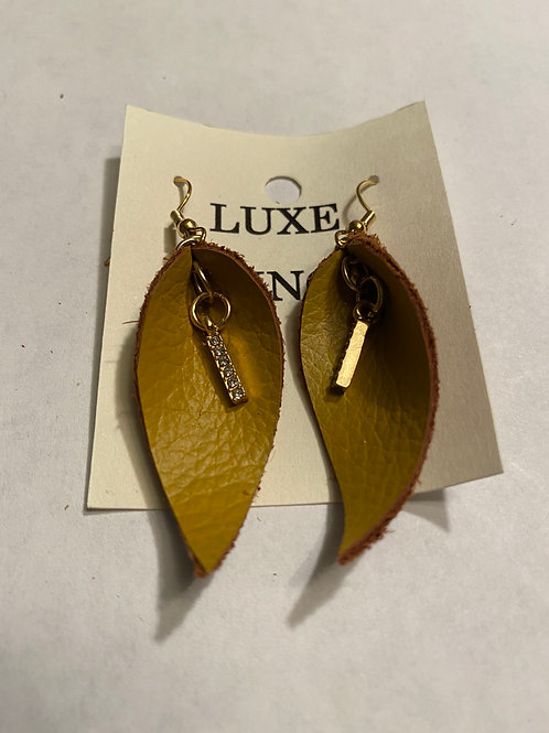 Luxe Fringe Earrings - Small