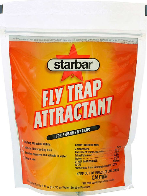 StarBar Fly Trap Attractant Refill for Reusable Fly Traps