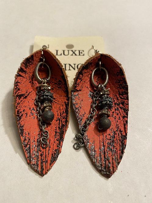 Luxe Fringe Earrings - Large