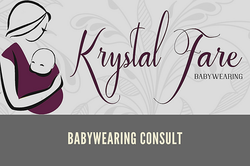 Babywearing Consult Gift Certificate