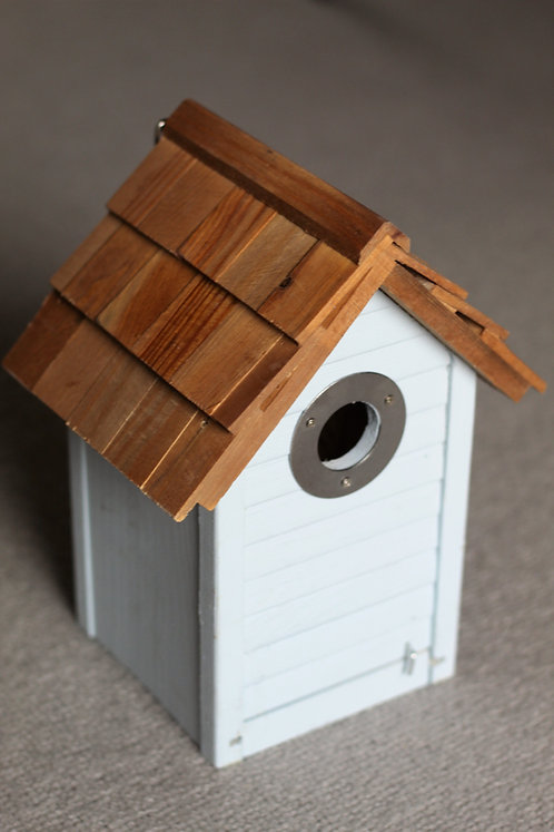 Blue bird box