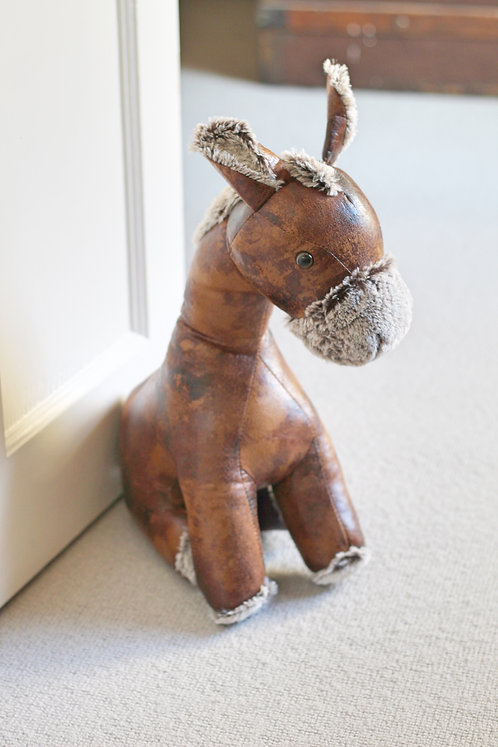 """Murray"" The Donkey Door Stop"