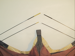 Spar size difference between kites