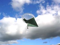 11 Cu metre Skyhook Helikite with Hood Gyro Camera