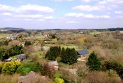 Skyshot Aerial of Countryside