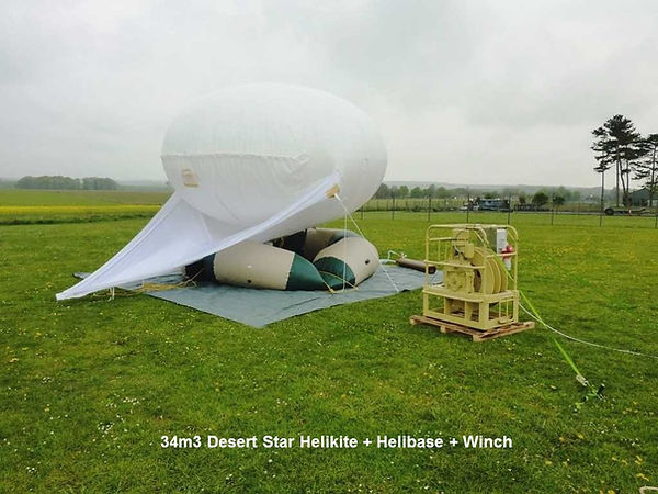 Helibase and winch