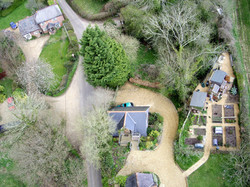 Farmhouse Aerial Photo by Skyshot