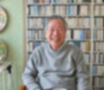 Image of Jazz critic and editor Kiyoshi Koyama taken by Katherine Whatley