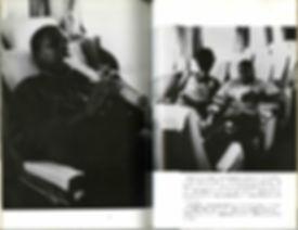 John Coltrane playing shakuhachi on shinkansen with Alice Coltrane