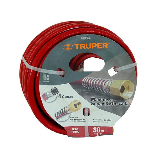 """Truper 5/8"""" X 98' Extra-Reinforced Garden Hose"""