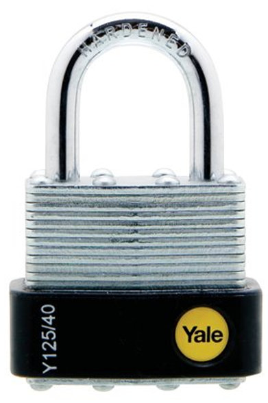 Yale Classic Series Outdoor Laminated Steel Padlock 40mm